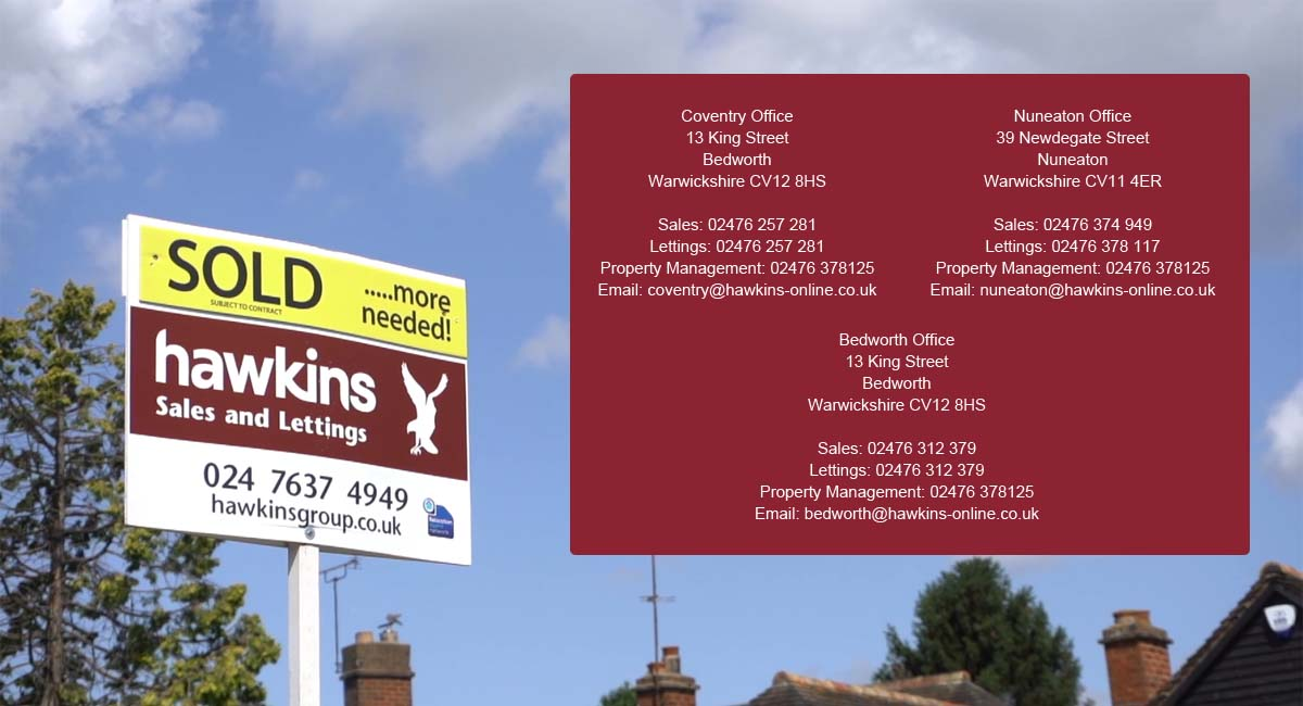 Estate Agents With Offices In Coventry Nuneaton And